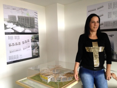 Yone Roberta, presidente do SINARQ-DF